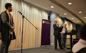Pain and the Brain: Professor Nicholas Rawlins speaks at Second Formal Hall of Fall Term