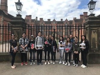 Morningside students on their first day at the University of York